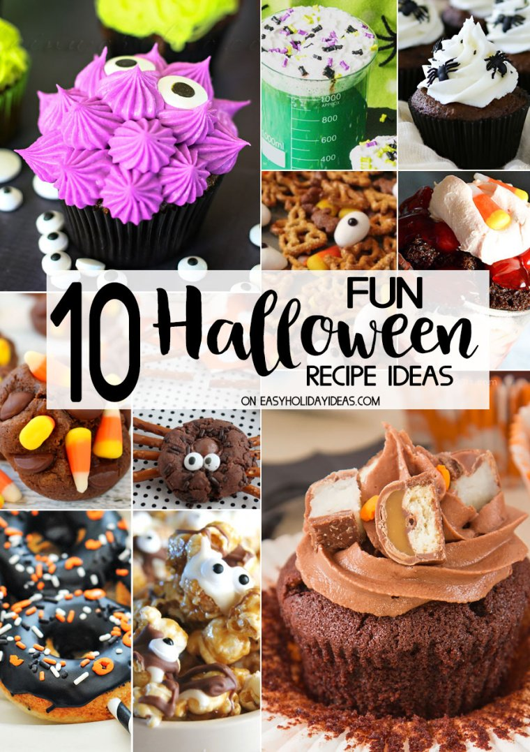 10 fun halloween recipe ideas - easy holiday ideas