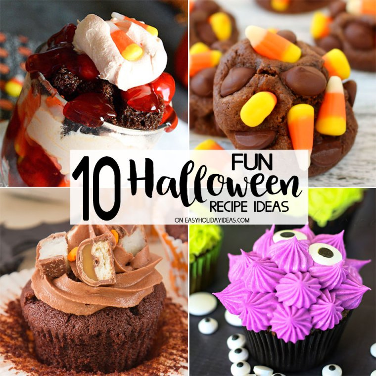 10 FUN Halloween Recipe Ideas
