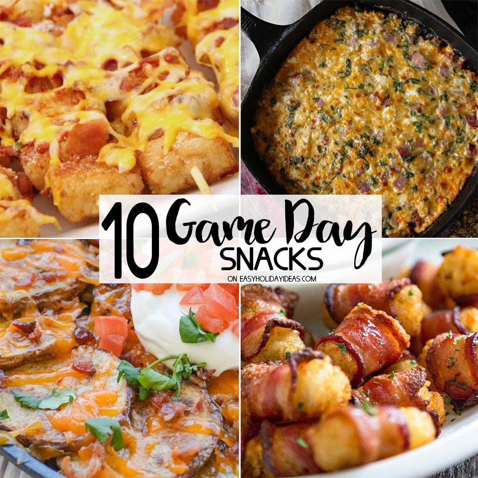 Game Day Snacks