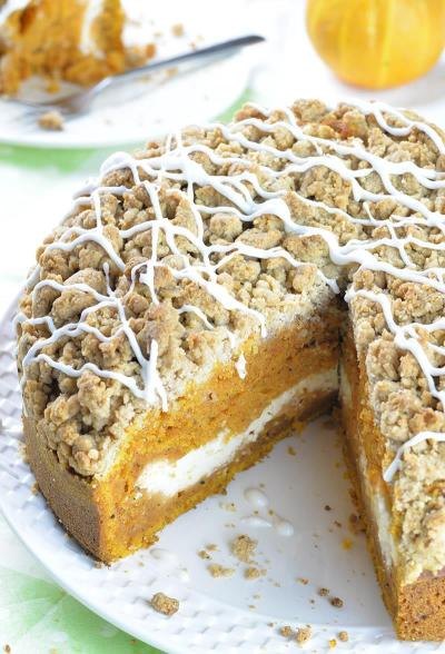 http://omgchocolatedesserts.com/pumpkin-coffee-cake/