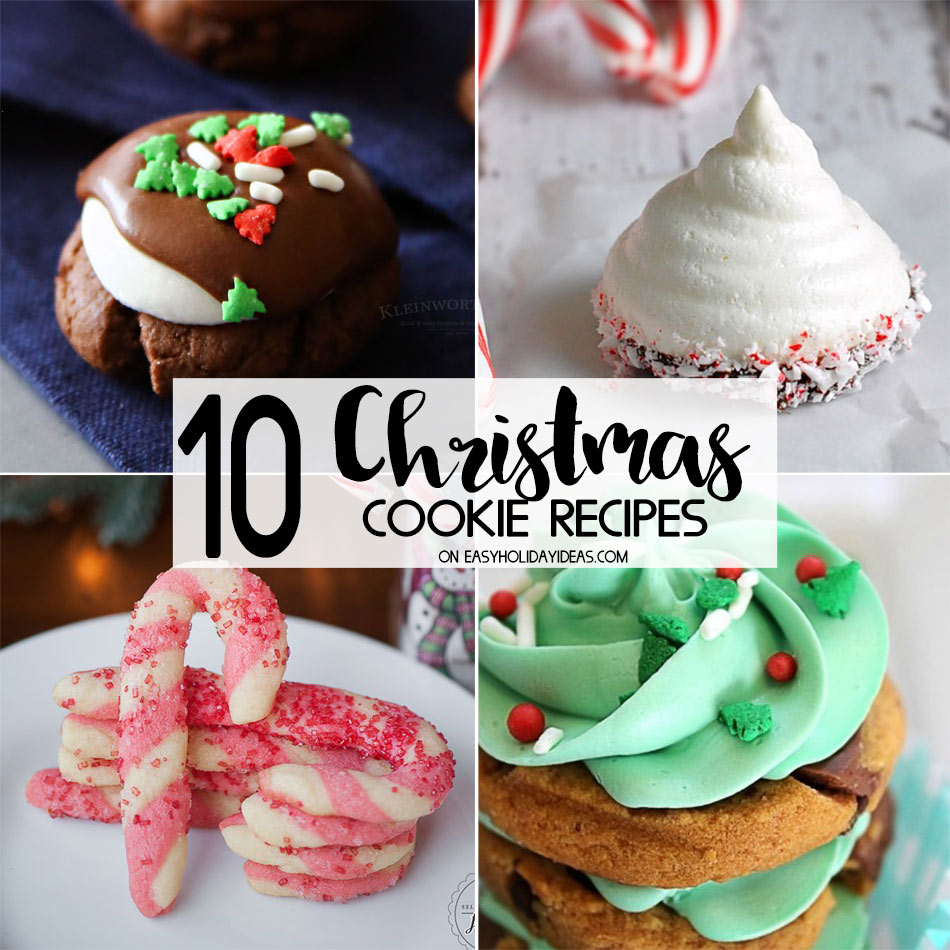 Best Christmas Cookie Recipes Easy Holiday Ideas