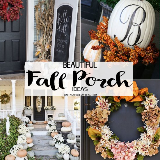 Beautiful Fall Porch Ideas