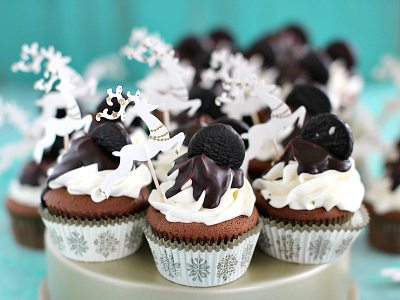 peppermint pattie cupcakes