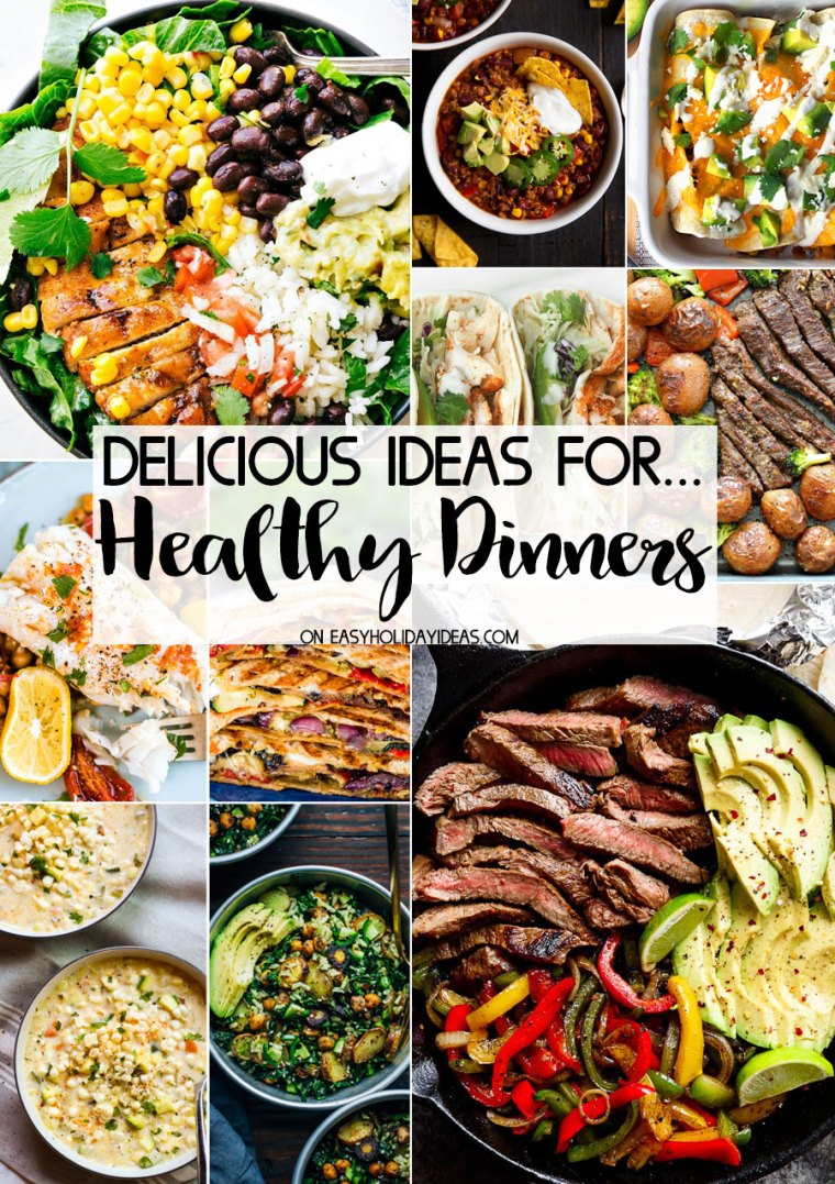 Healthy dinner ideas easy holiday ideas healthy dinner ideas forumfinder Gallery