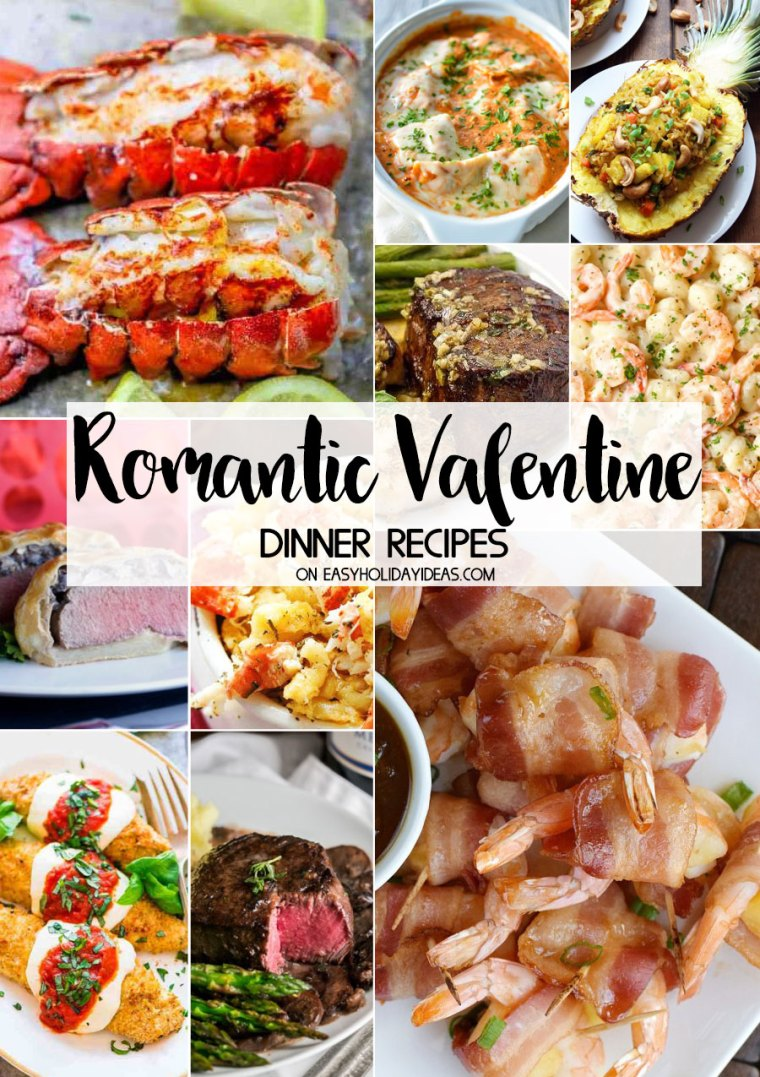 Romantic Valentine Dinner Recipes