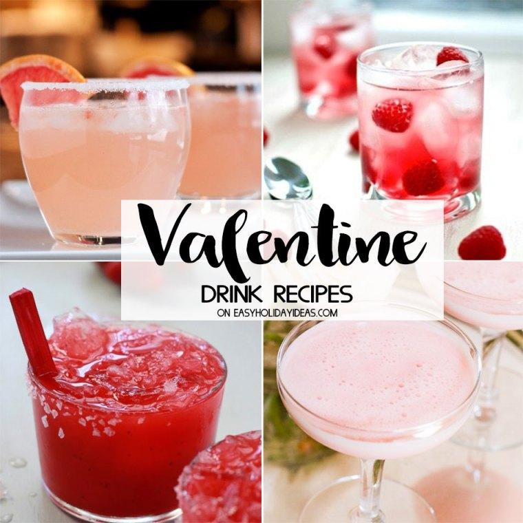 Valentine Drink Recipes
