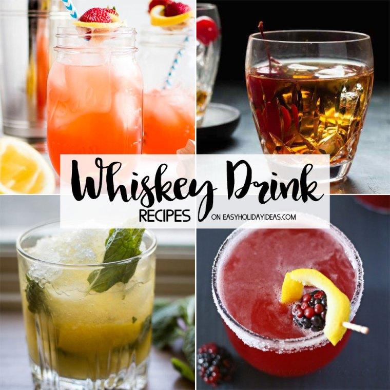 Whiskey Drink Recipes