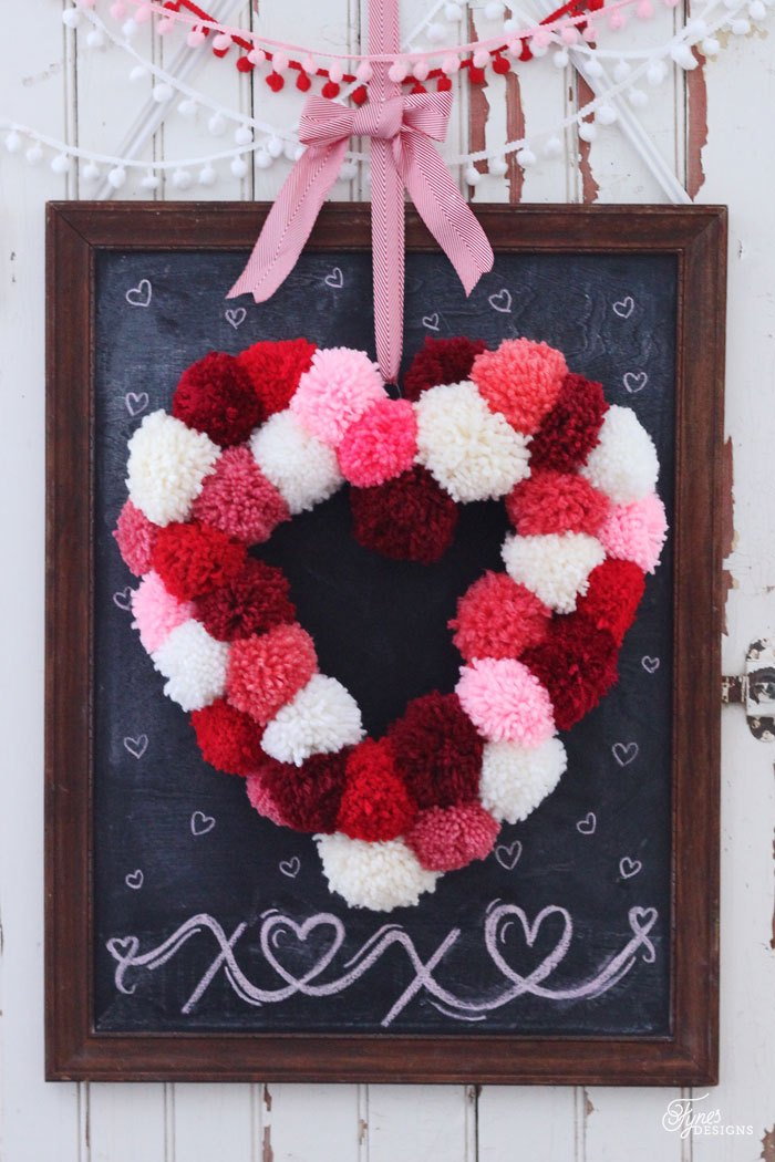 Heart Shaped Wreath U2013 Make Your OWN Heart Form With This Simple Tutorial.  Via Fynes Designs