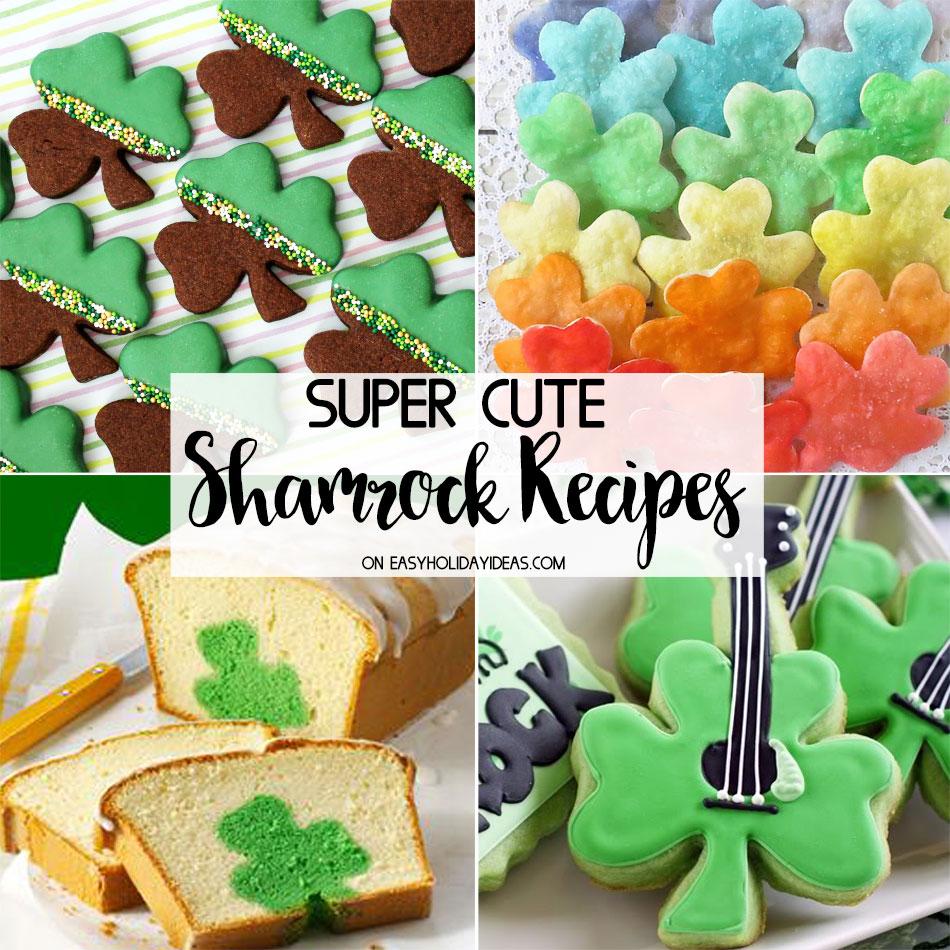 Cute Shamrock Recipes