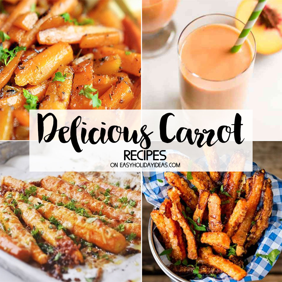 Delicious Carrot Recipes