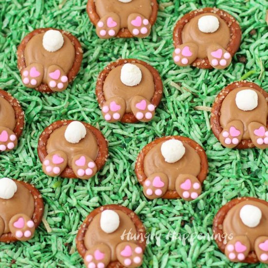 Cute Spring Pretzel Ideas