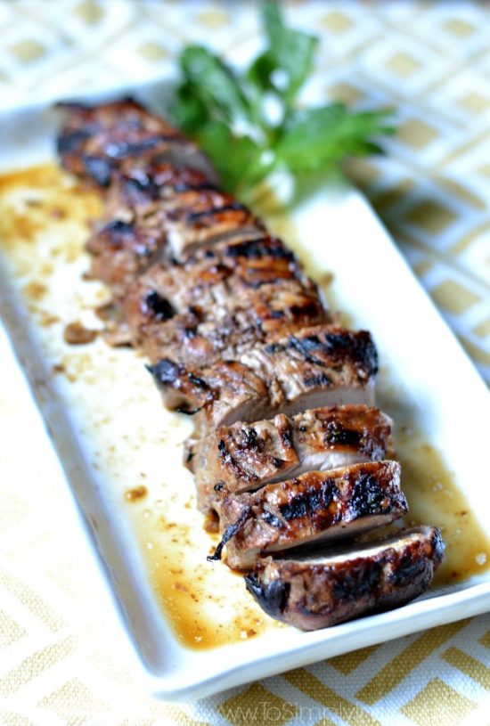 Just 2 ingredients make this Honey Dijon Pork Tenderloin a perfectly juicy and tender blend of sweet and tangy.