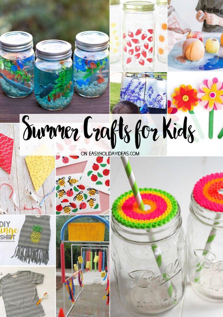 Summer Crafts for Kids