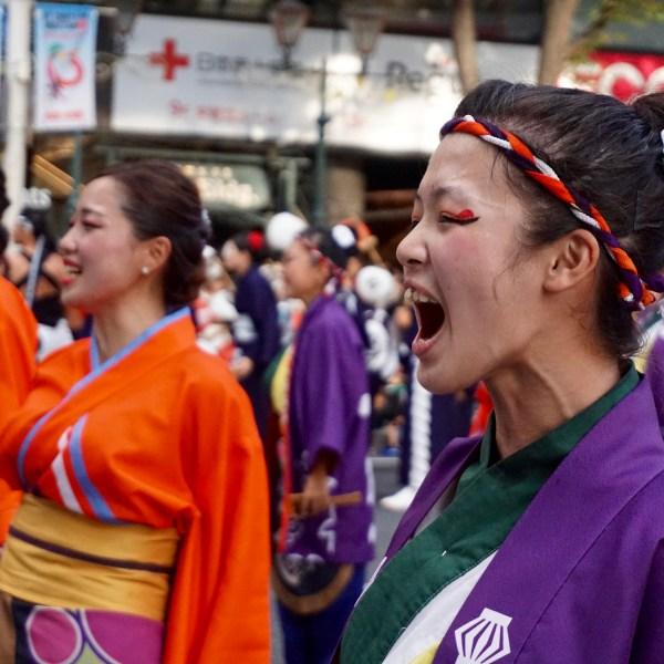 Nippon Domannaka Matsuri dancers