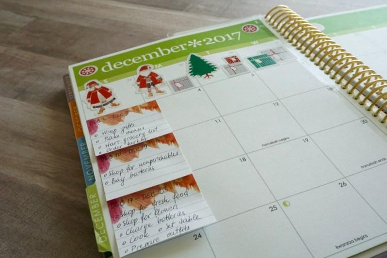 Planning December 1