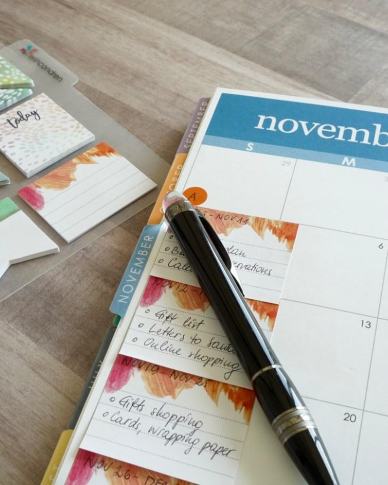 Planning November 2