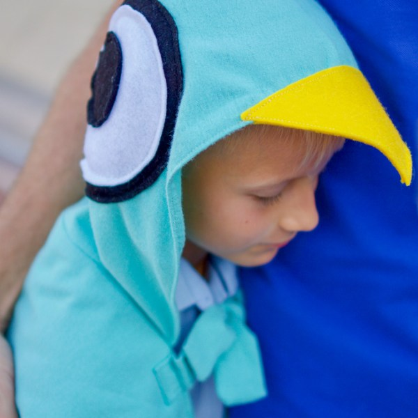 The pigeon costume