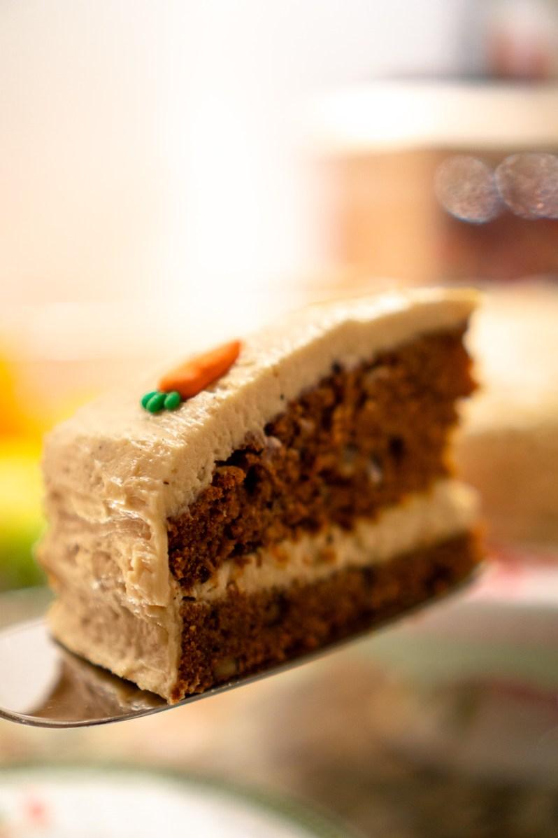 Vegan Gluten-Free Carrot Cake 1
