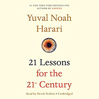Books I read- 21 Lessons for the 21st century