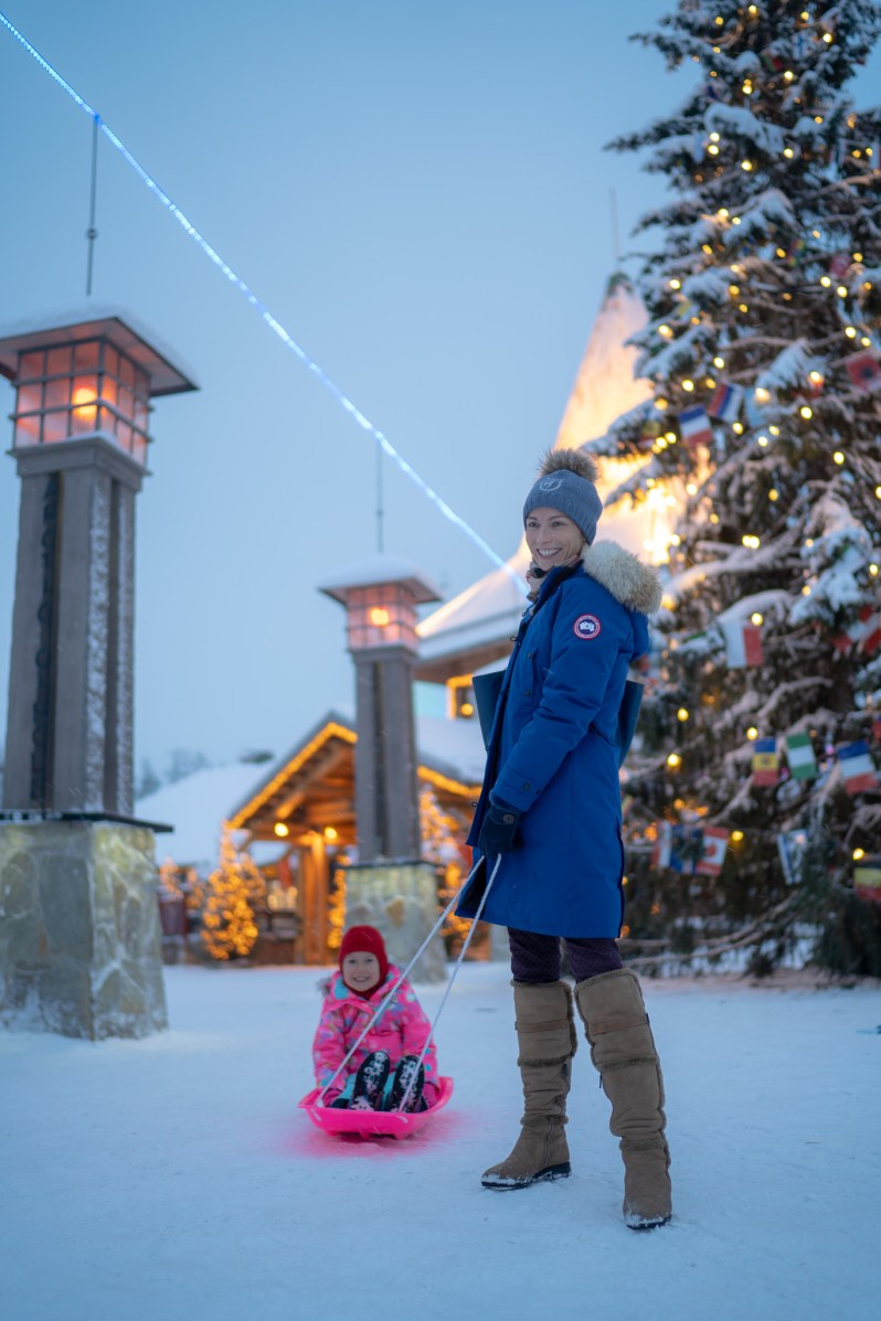 Santa Claus Village - Polar circle