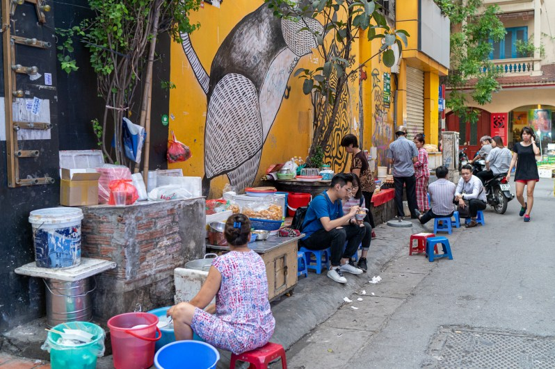 Vietnam holiday diary - street food tour in Hanoi