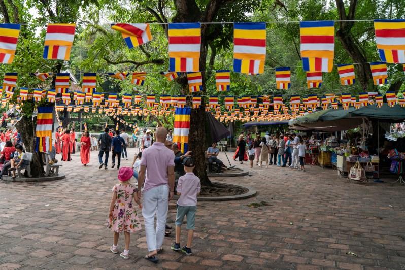Holiday diary - Hanoi One Pillar Pagoda