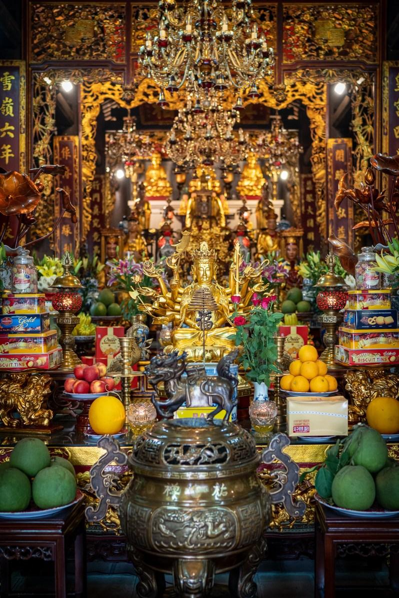 Holiday diary - Hanoi temple