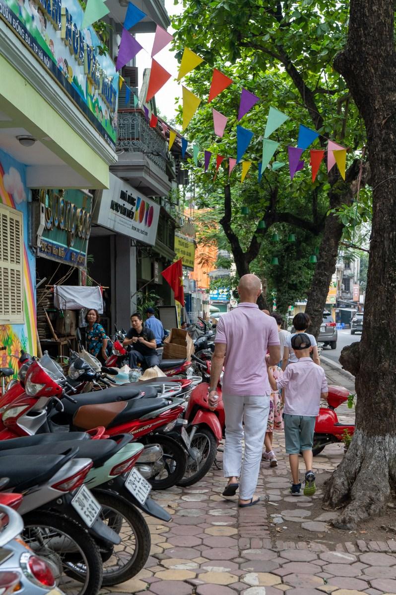Holiday diary - Hanoi street