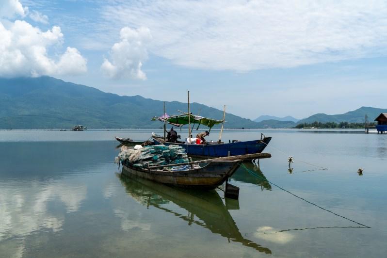 Holiday in Vietnam -fishing village