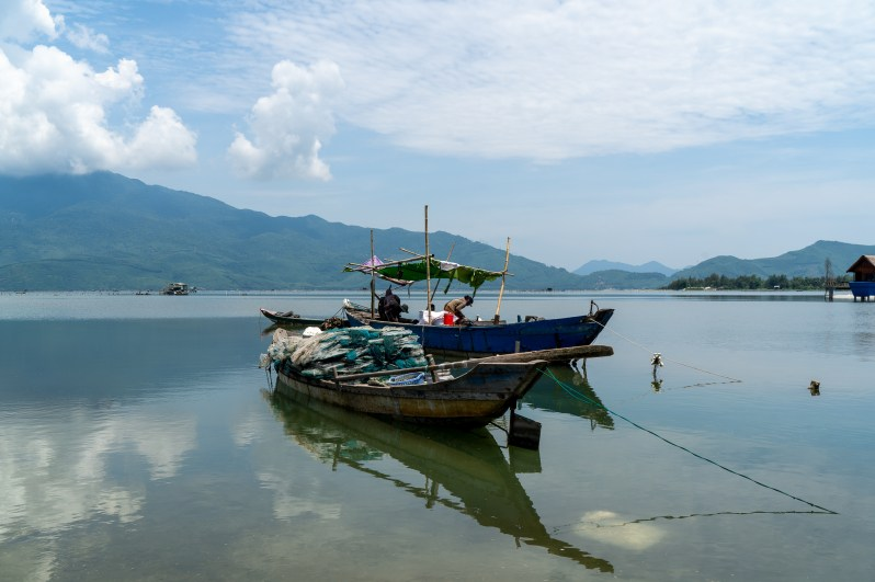 Holiday in Vietnam -fishing village