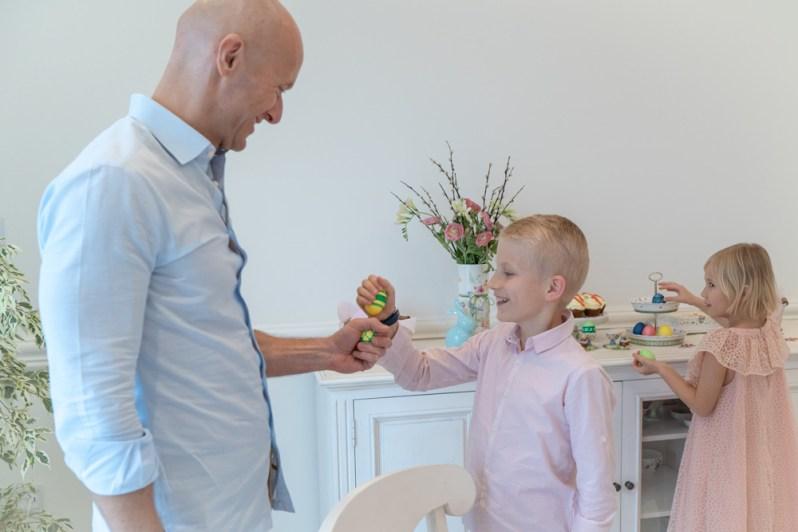 Easter celebration egg fight