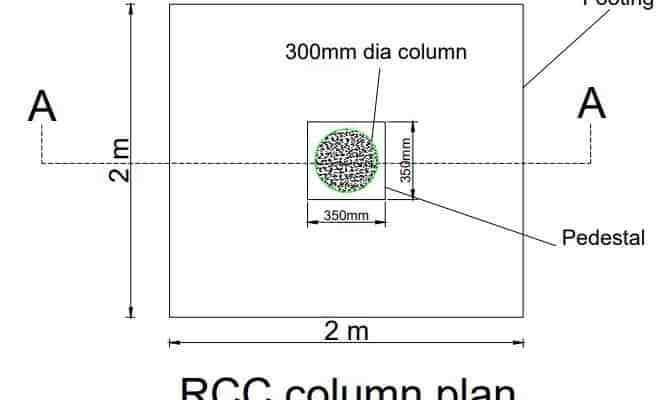 rcc column plan