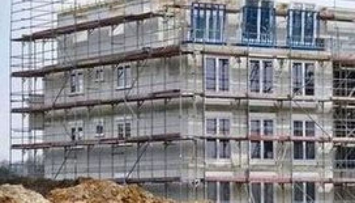 scaffolding for house construction