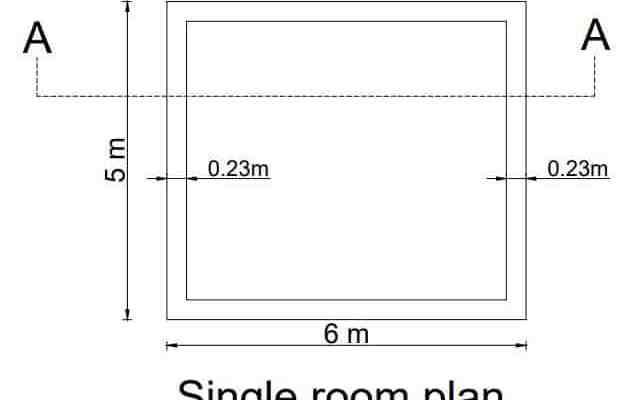 single room plan