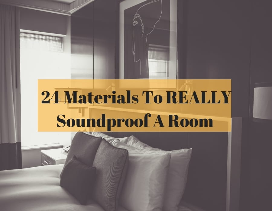 materials to soundproof a room