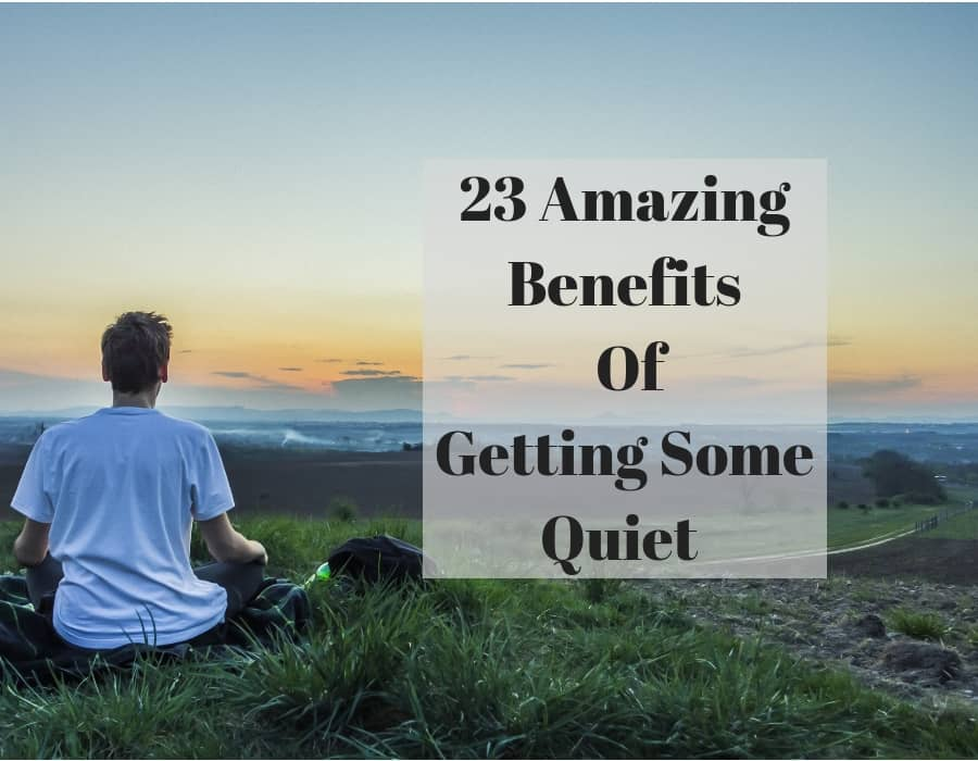 Benefits of silence