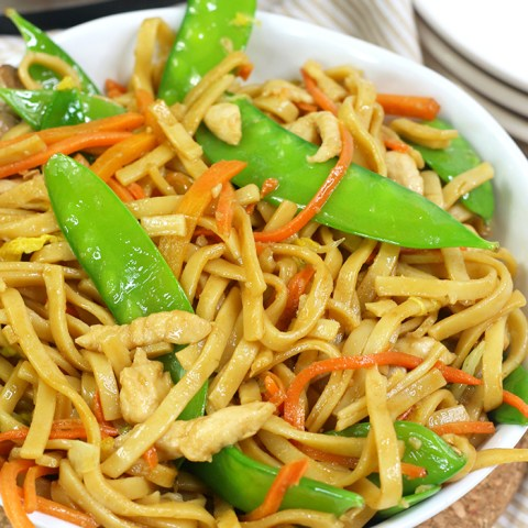 Instant pot chicken lo mein