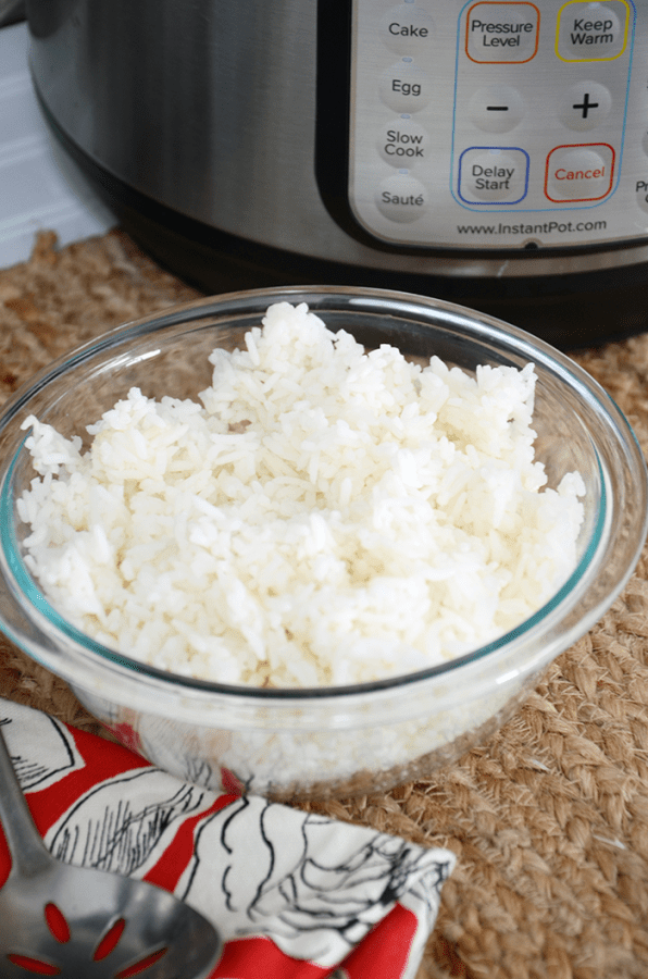 how to make easy instant pot rice