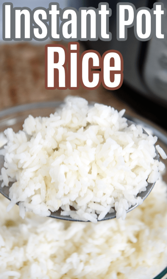 easy rice in the instant pot
