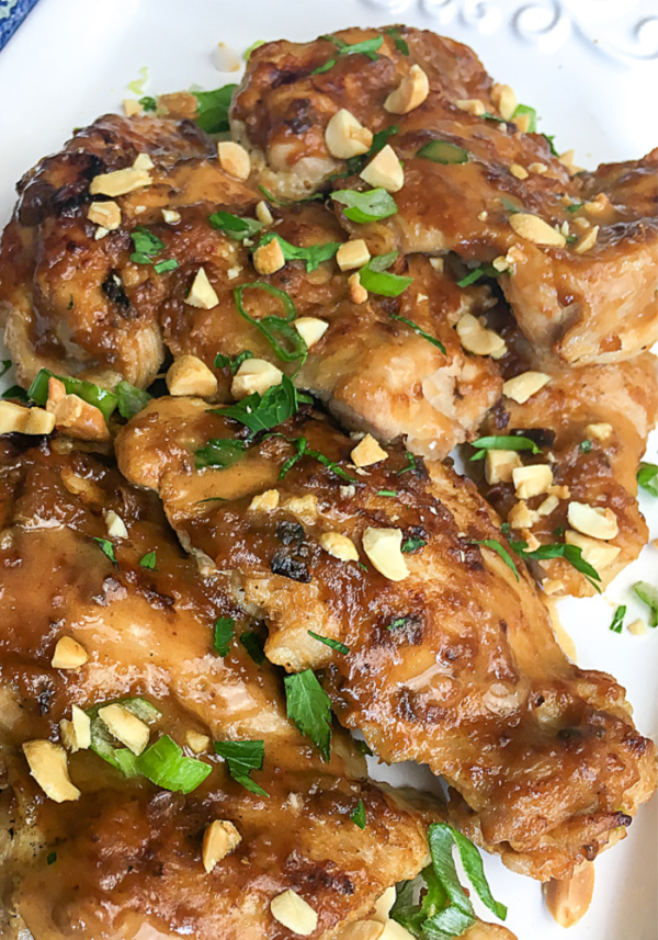 Instant Pot chicken thighs