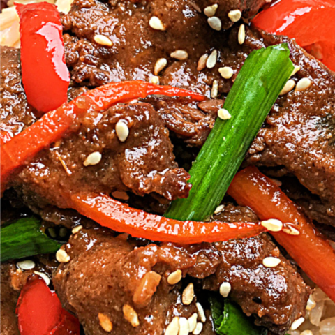 How to make Instant Pot Mongolian beef