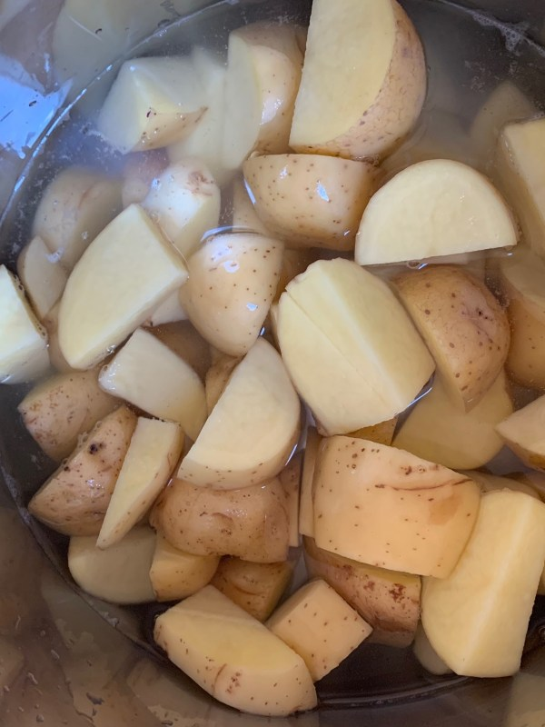 how to make pressure cooker mashed potatoes