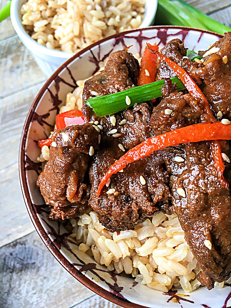 """Featured image for """"Instant Pot Mongolian Beef"""""""