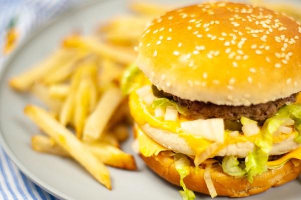 Instant Pot Big Mac burgers