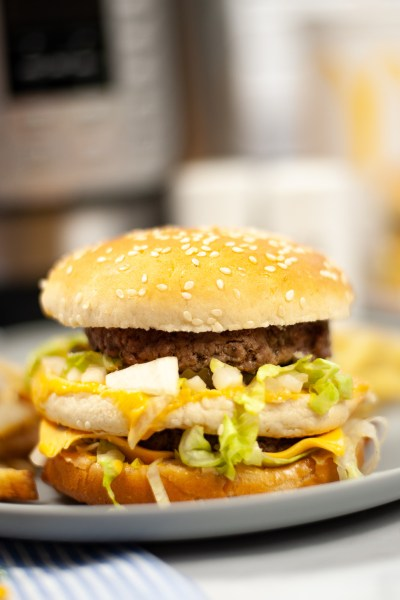 Instant Pot Big Mac Burgers (3)