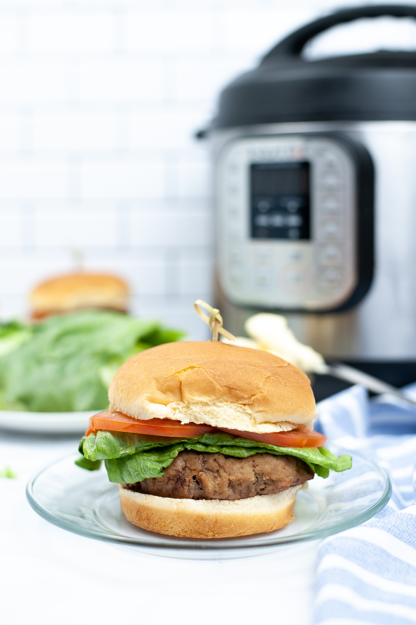 """Featured image for """"Instant Pot Turkey Burgers"""""""