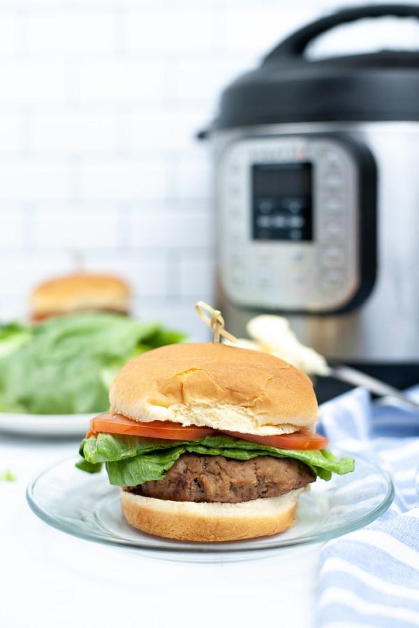 Instant Pot Turkey Burger