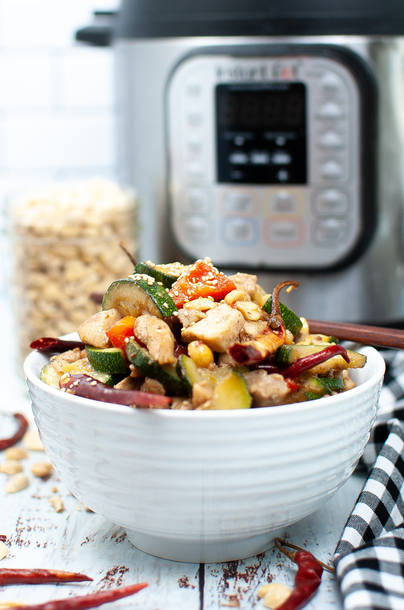 """Featured image for """"Instant Pot Kung Pao Chicken"""""""