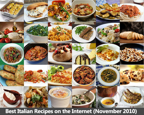 Best Italian Recipes on the Internet (November 2010)