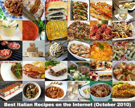 Best Italian Recipes on the Internet (October 2010)